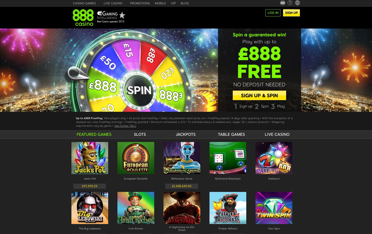 Net Casino 888
